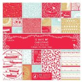 "Docrafts - 12 Days of Christmas - 6 x 6"" Paper Pack - PMA 160154"